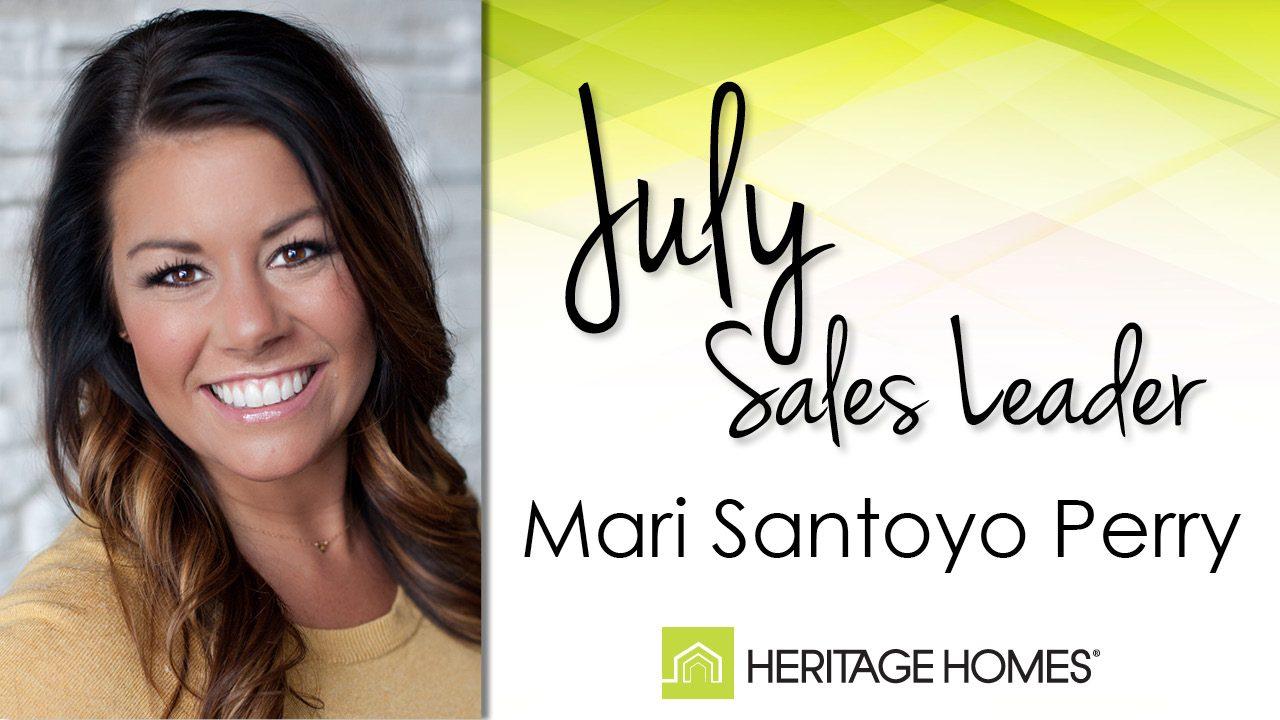 July 2016 Sales Leader – Mari Santoyo Perry