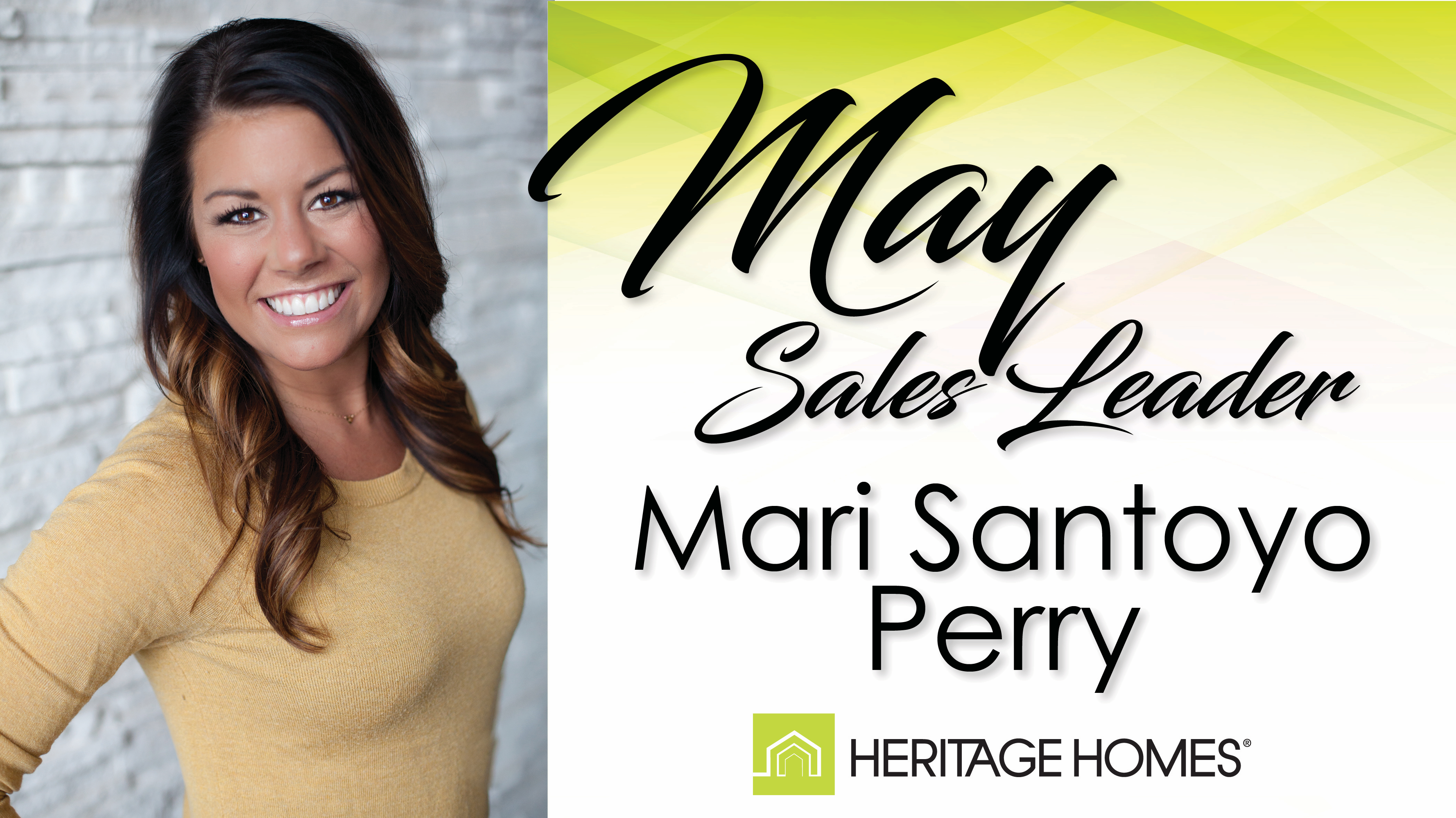 May 2017 Sales Leader – Mari Santoyo Perry