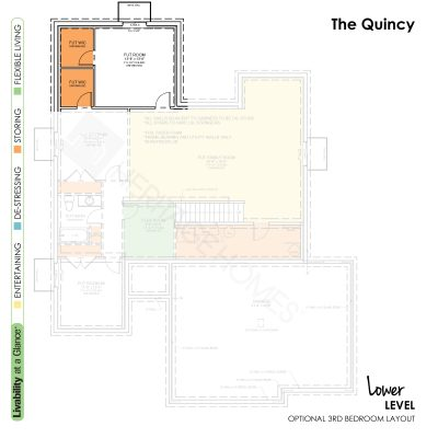 Quincy-Lower-Level-Optional-Bedroom