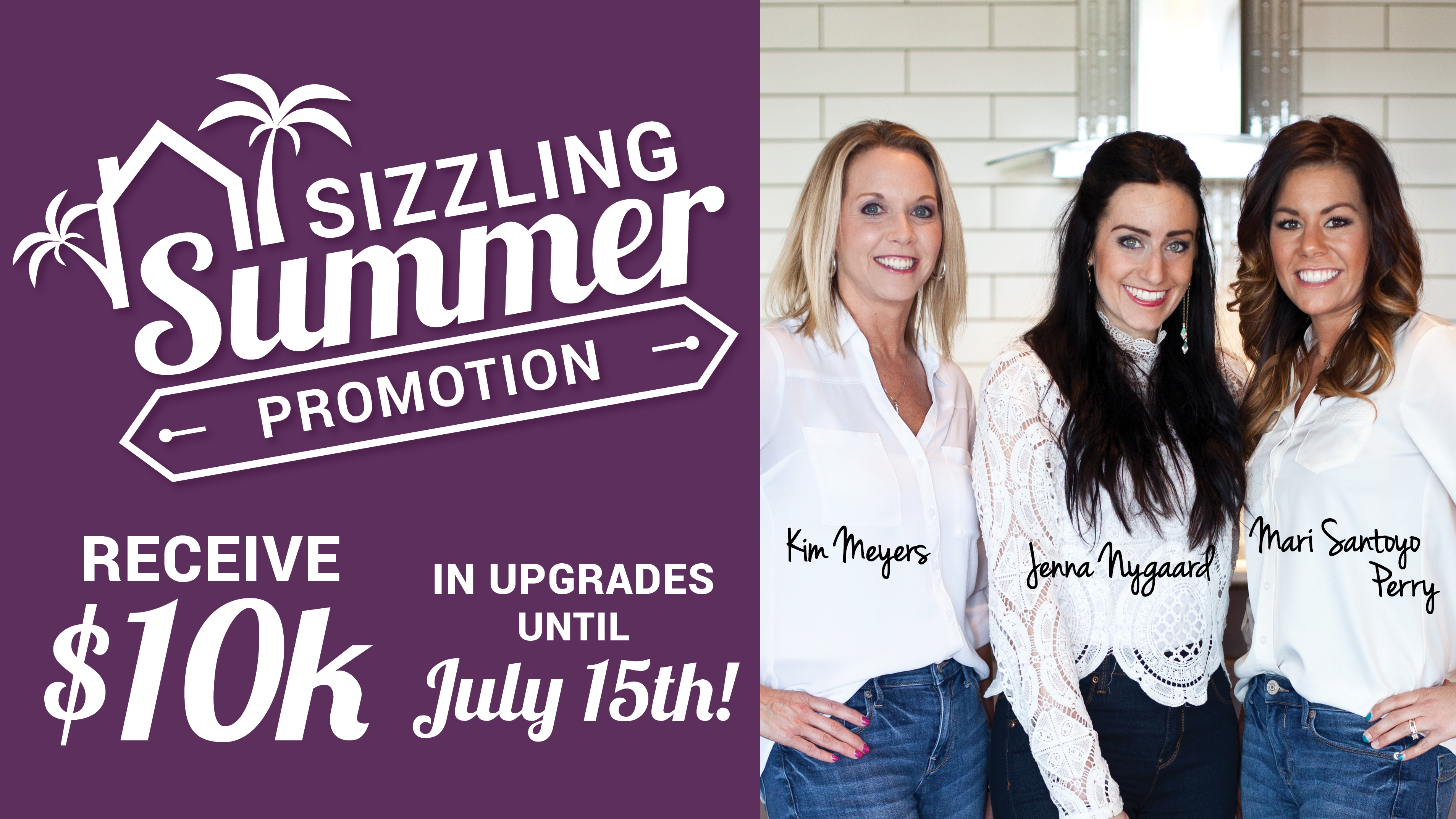 Sizzling Summer Promotion – Deal of the Summer!