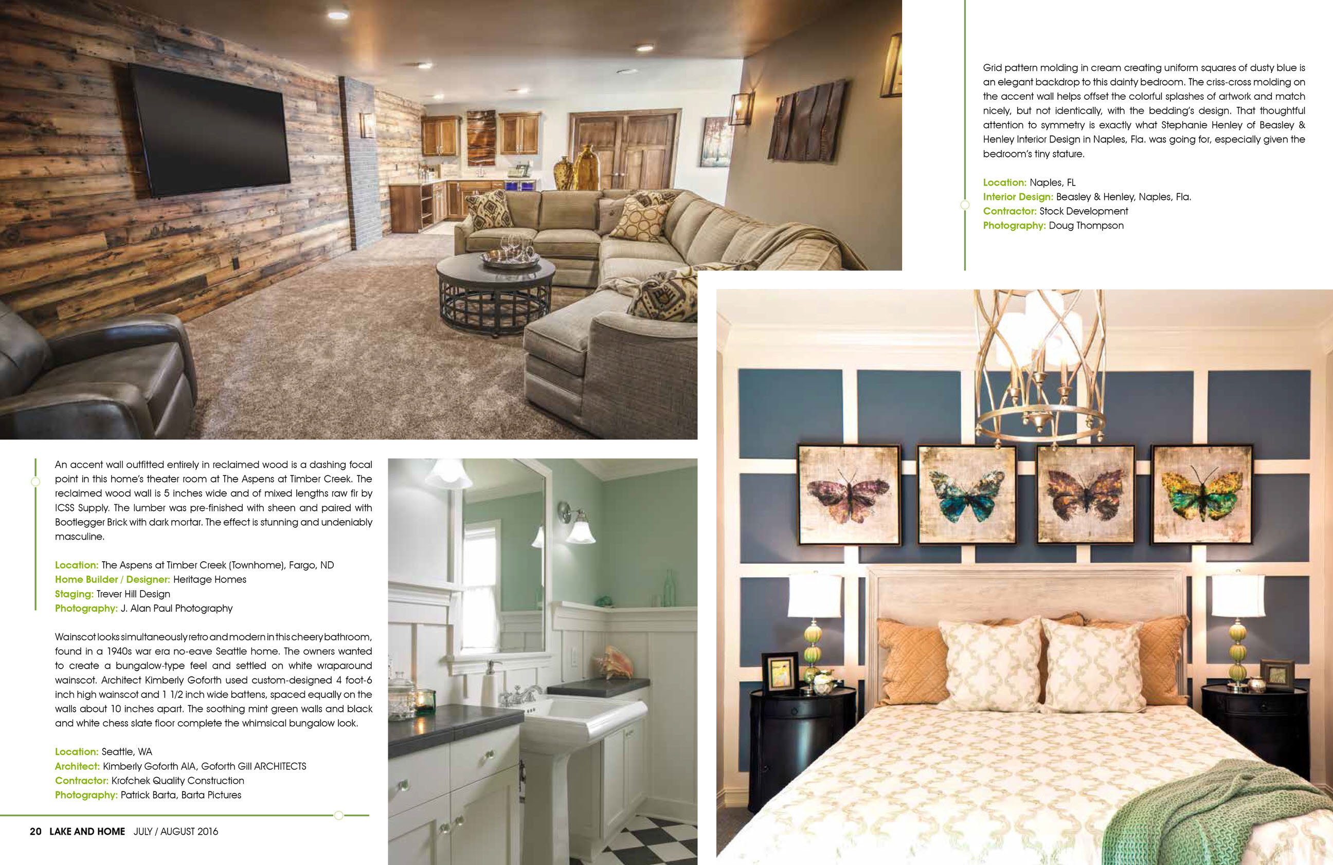 Beautify Your Home With Millwork Trim And Moldings Lake Magazine Feature