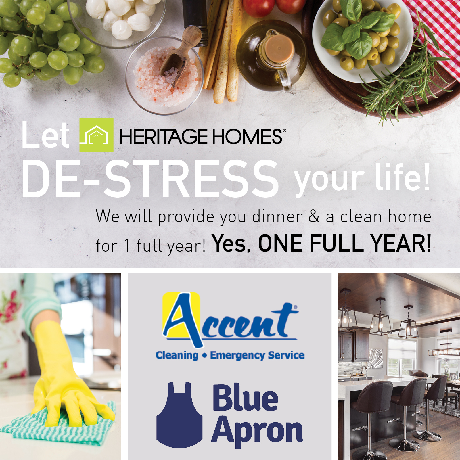 Let Heritage Homes De-Stress Your Life!