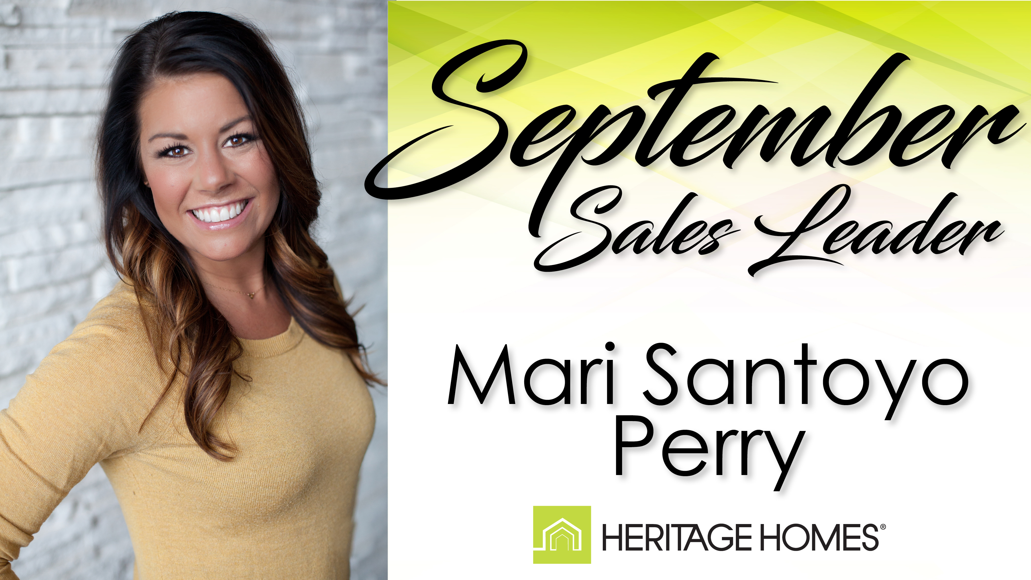 September Sales Leader – Mari Santoyo Perry