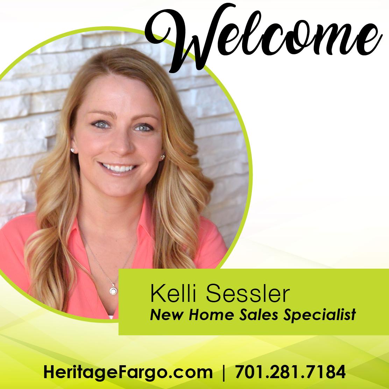 Welcome Kelli Sessler: New Home Sales Specialist
