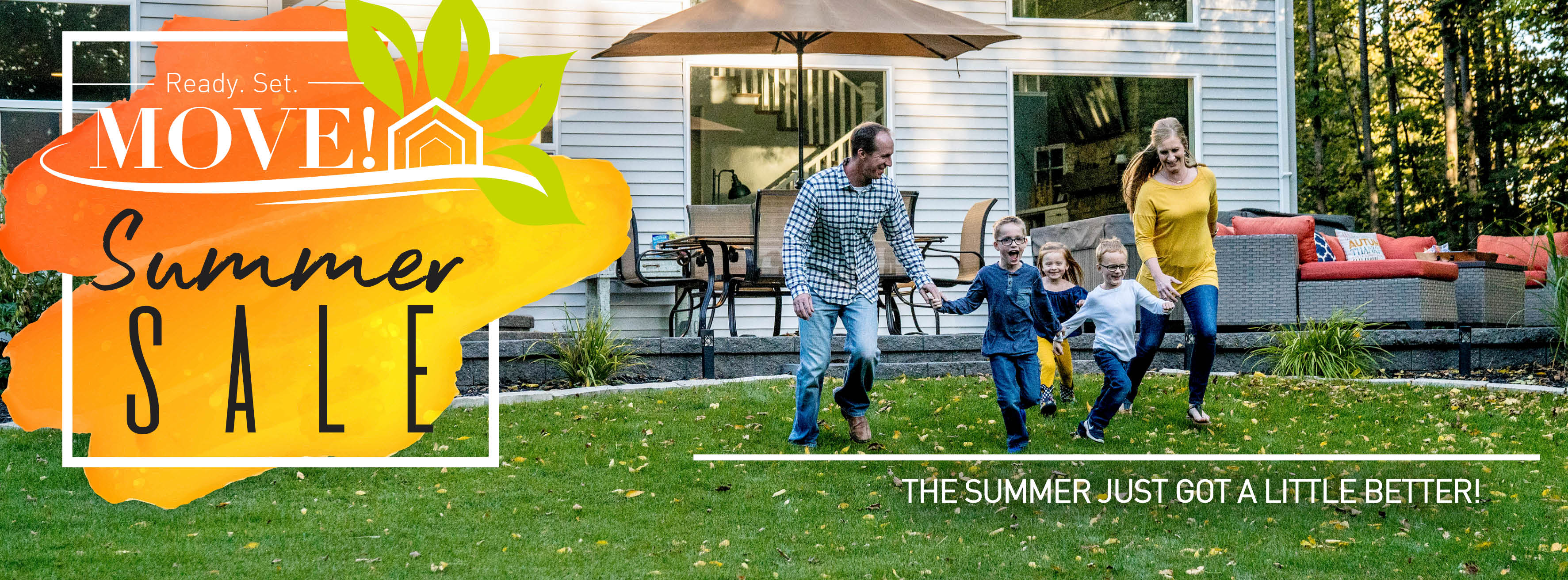 Summer Savings with Heritage Homes