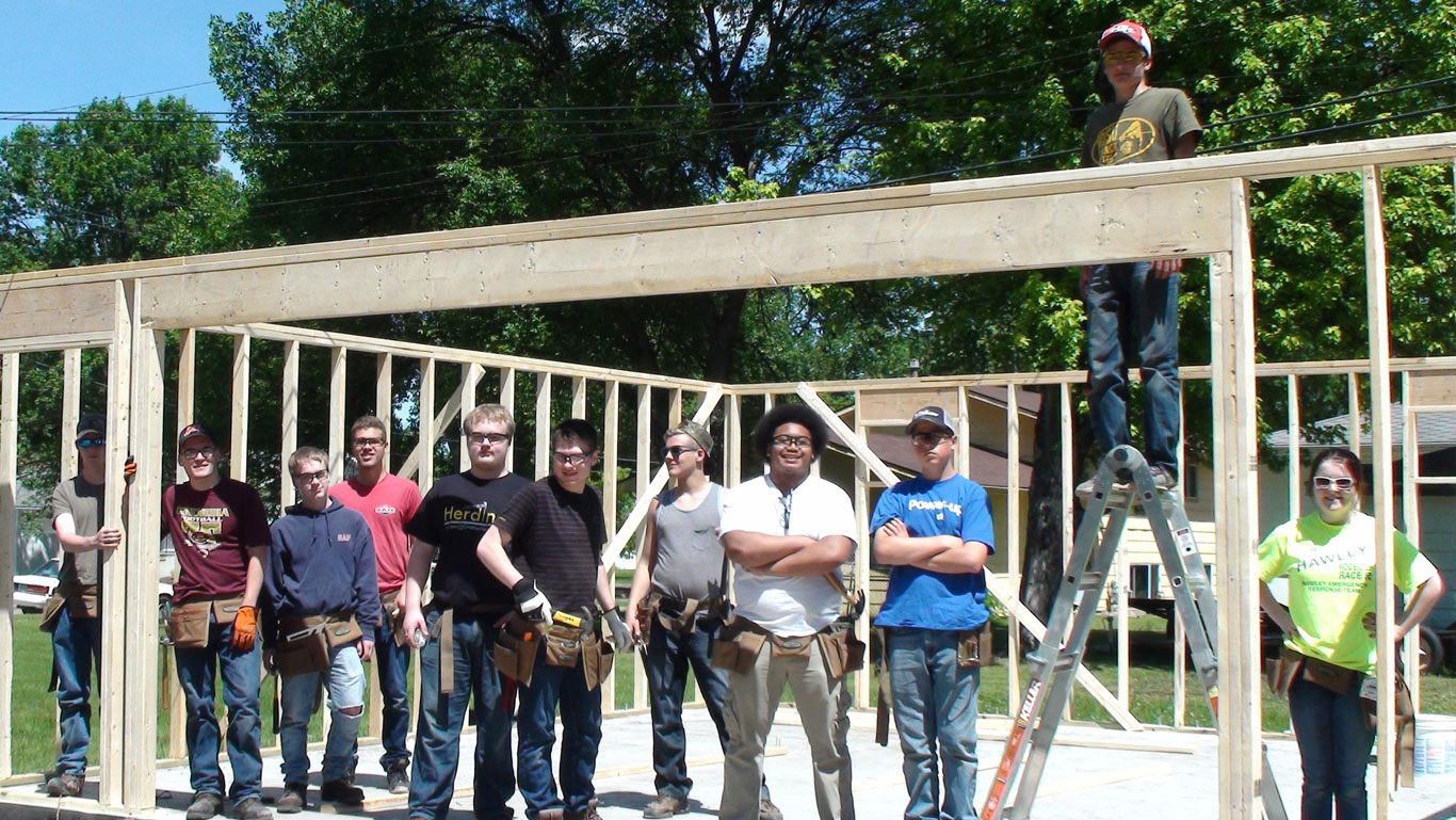 Heritage Homes Sponsors Herdina Academy for the Construction Trades