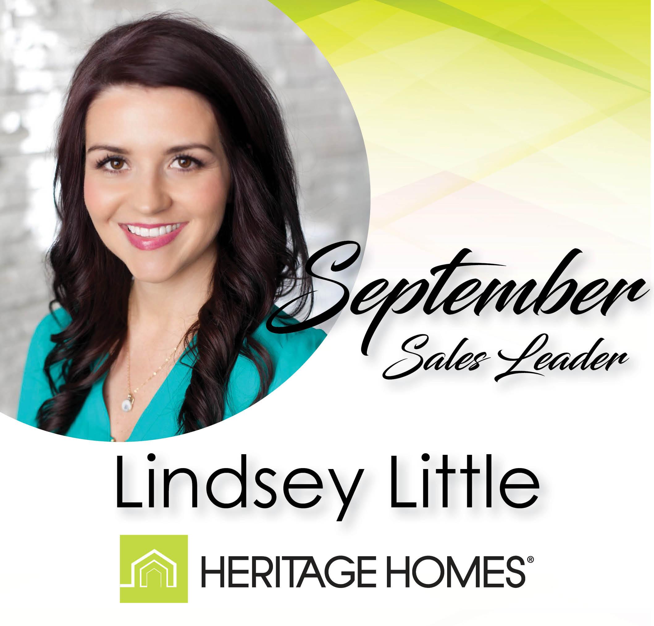 September Sales Leader – Lindsey Little