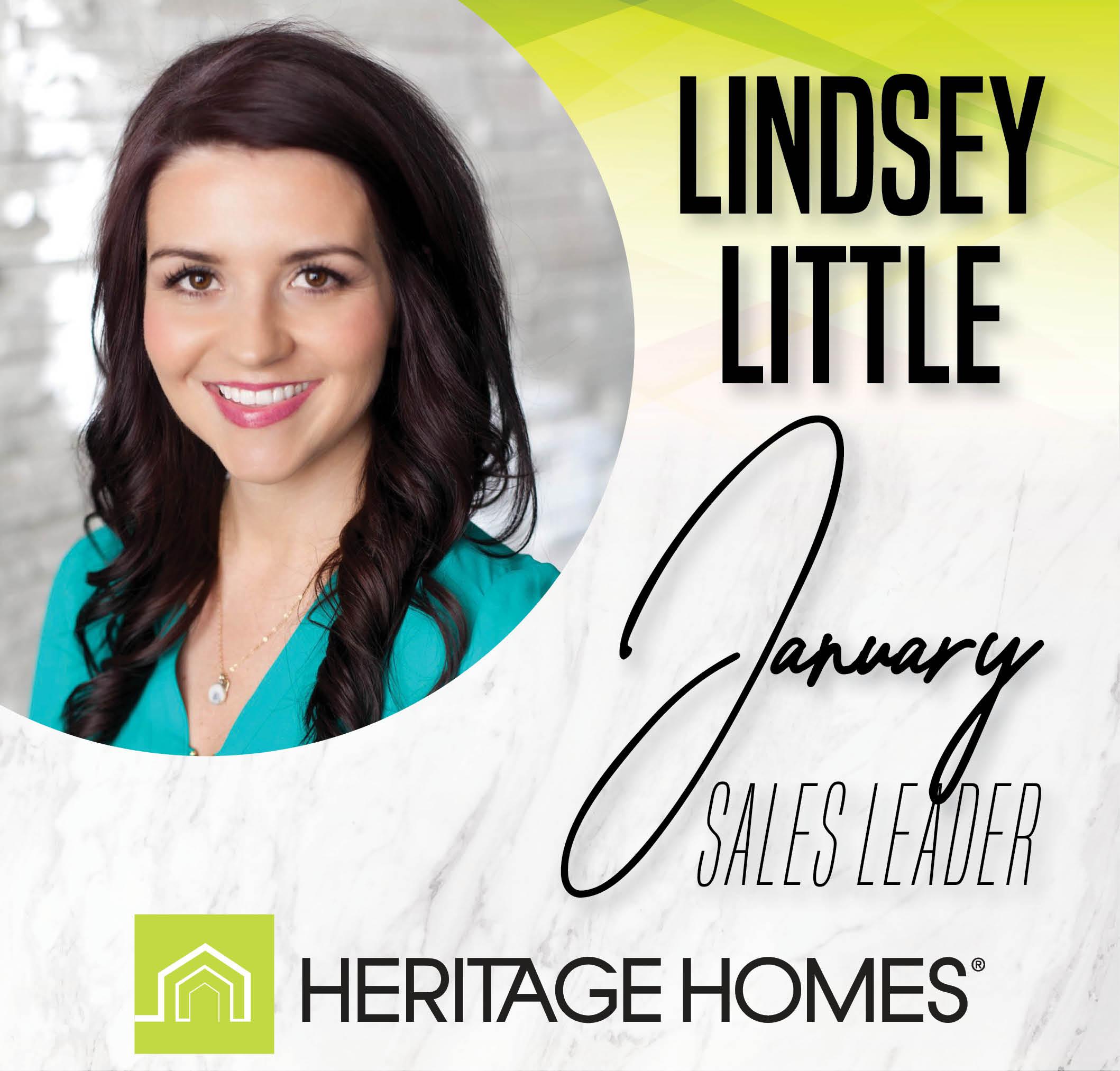 January Sales Leader – Lindsey Little
