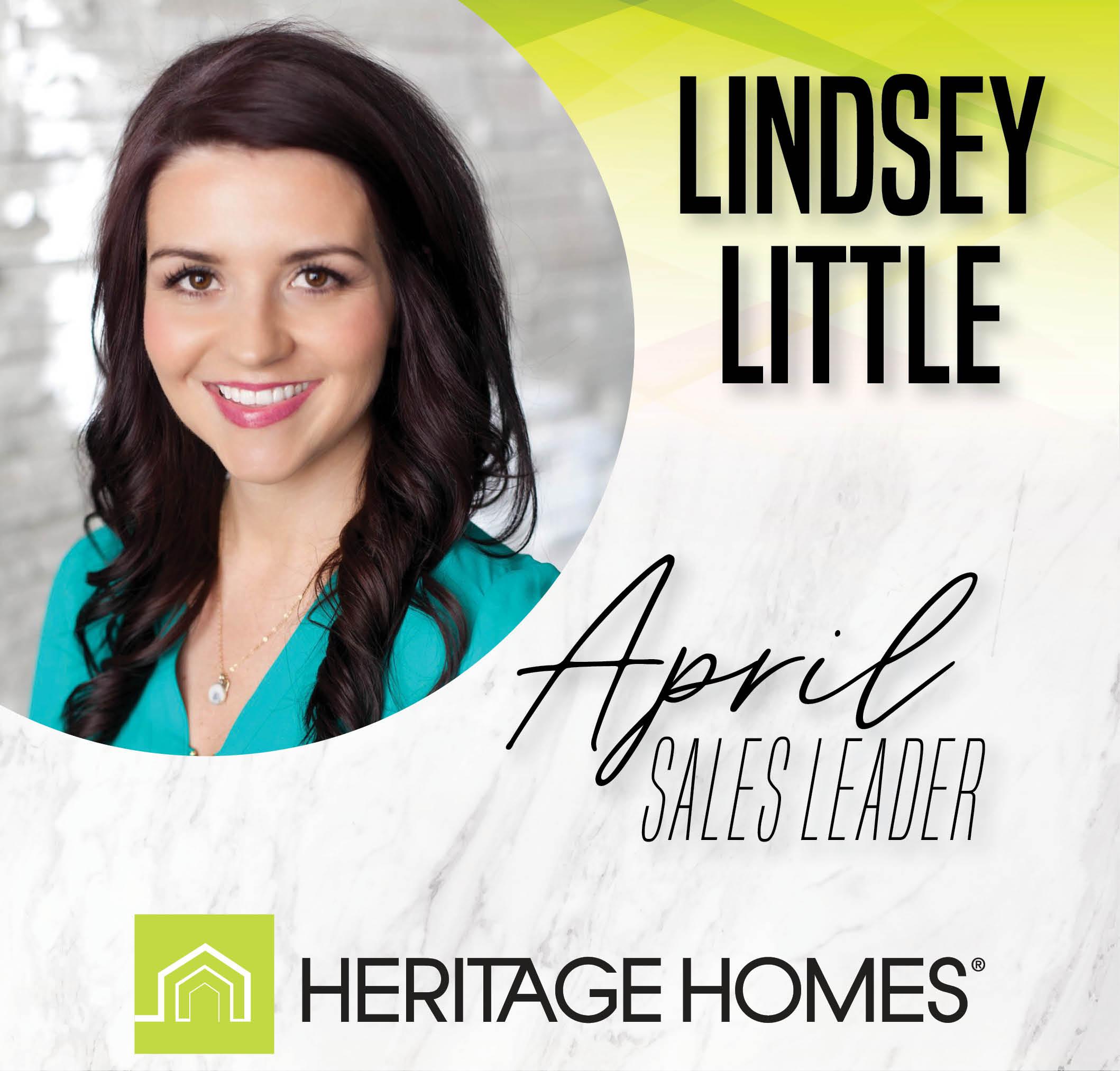 April Sales Leader – Lindsey Little