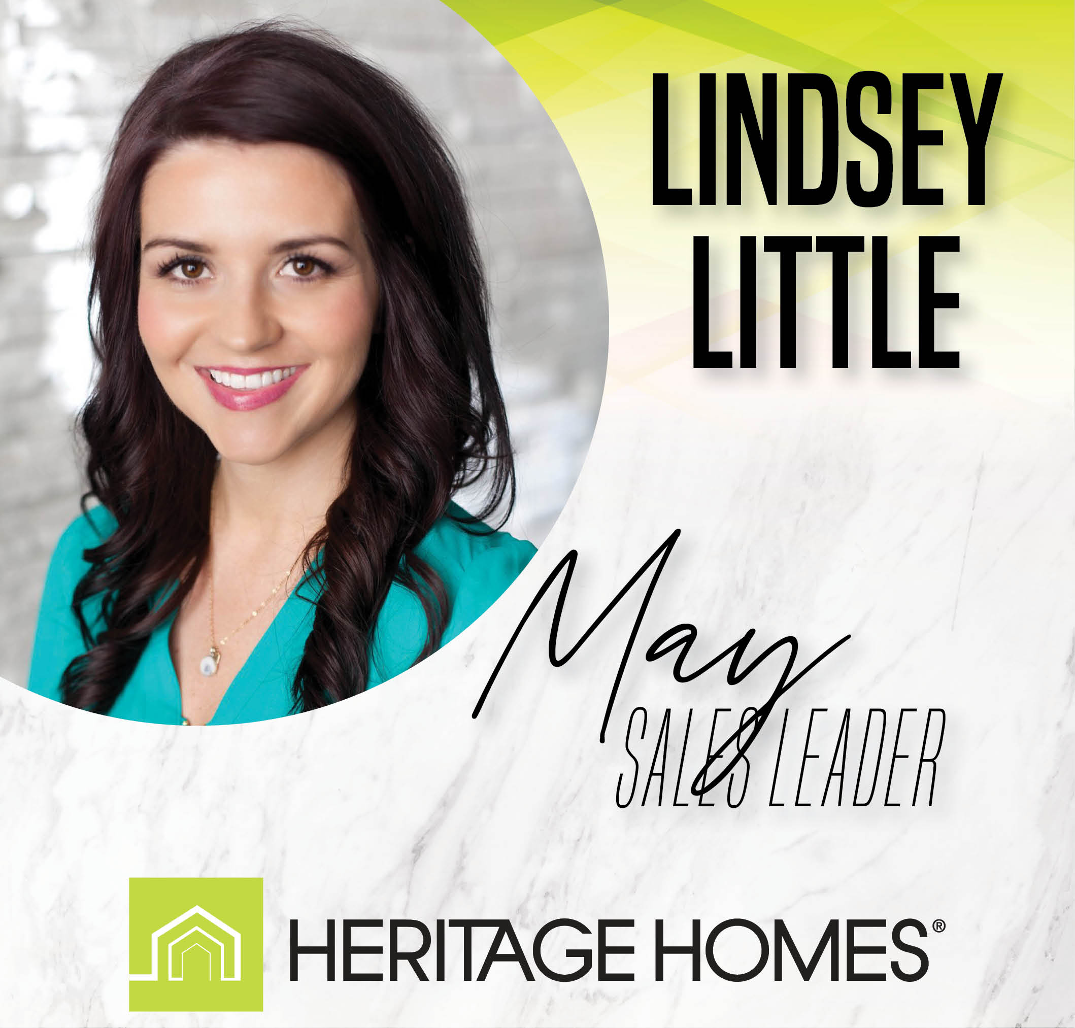May Sales Leader – Lindsey Little