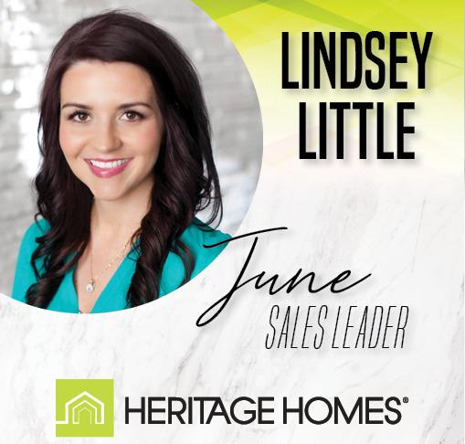 June Sales Leader – Lindsey Little
