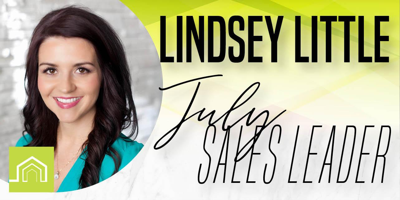 July Sales Leader – Lindsey Little