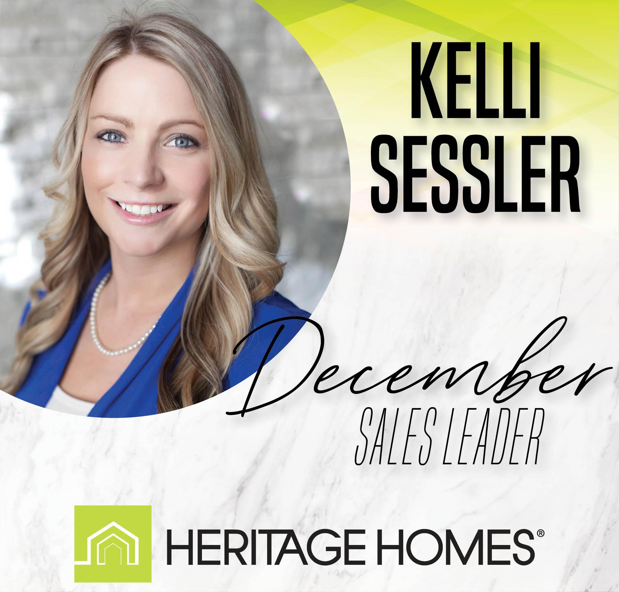 December Sales Leader – Kelli Sessler