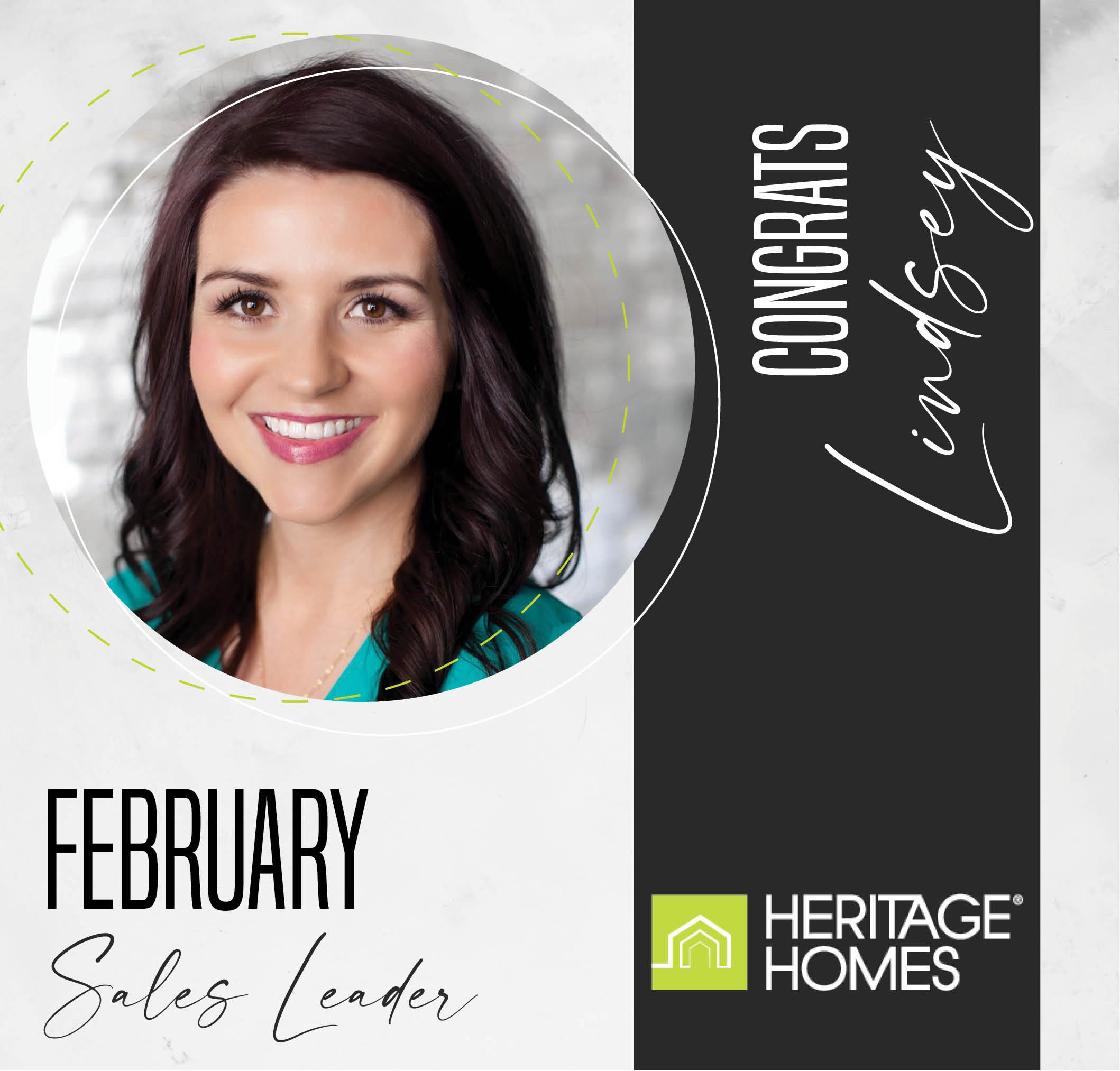 February Sales Leader – Lindsey Little