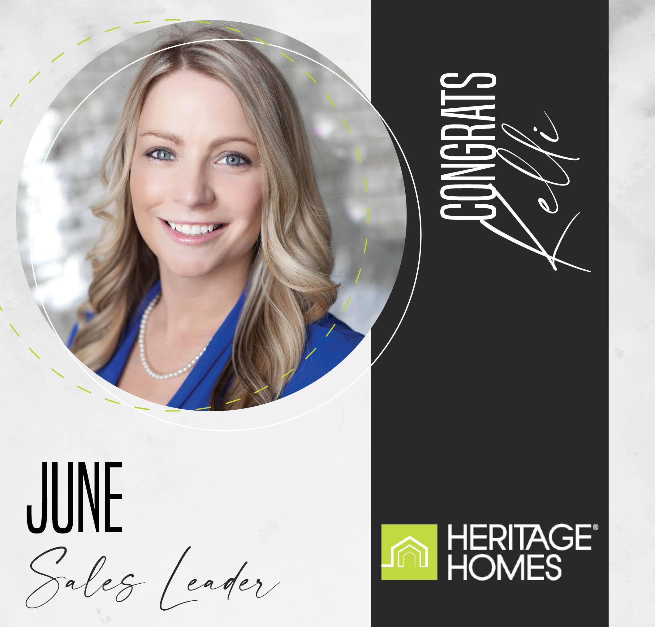 June Sales Leader – Kelli Sessler